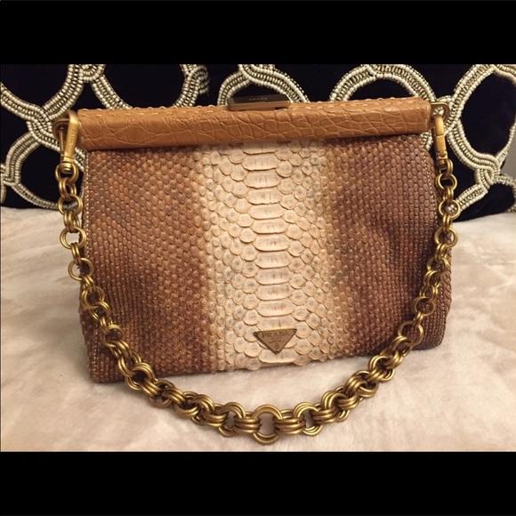 9cd3b9cbe34e Prada Bags   Python Bag   Poshmark